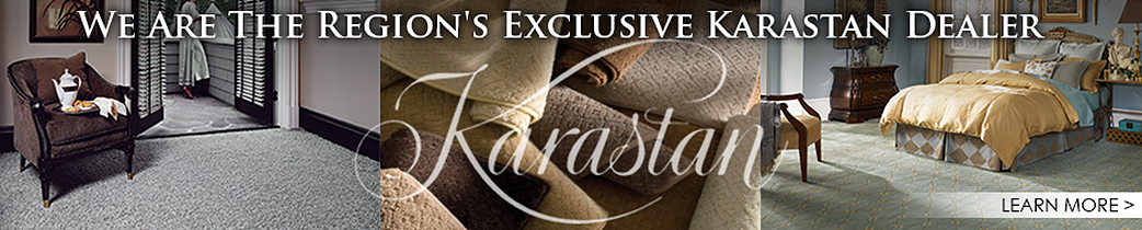 Florence Carpet & Tile is the area's exclusive Karastan Dealer.